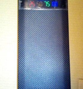Внешний аккумулятор (powerbank) 12000 mAh 2USB/1A