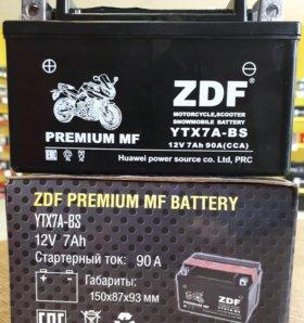 Мото аккумулятор 6СТ - ZDF 1207 MF