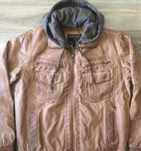 Кож куртка новая