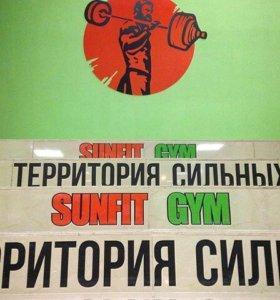 Абонемент в Sunfit gym