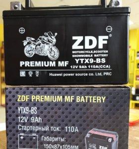 Мото аккумулятор 6СТ - ZDF 1209 MF