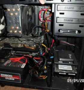 AMD системник для игр/монтажа