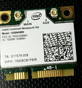 WiFi модуль 100BNHMW Intel Centrino Wireless-N 100