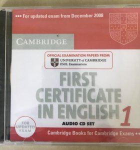 Диск First Certificate in English 1