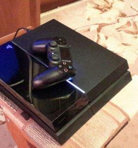 PS 4 500 Gb + 1 геймпад.