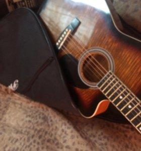 Гитара Colombo 3800ct-sb и чехол Phil