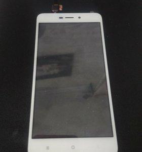 Тачскрин (белый) Xiaomi Redmi 4 a