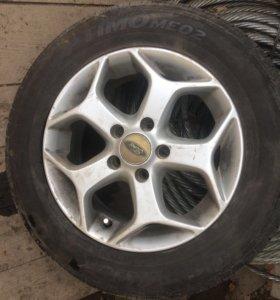 Диски колесные с форд фокуса 2