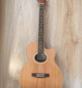 Электроакустическая гитара colombo lf 401ceq sb