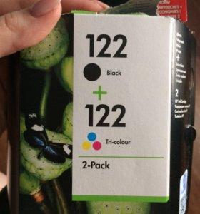 Картриджи 122 для принтера HP