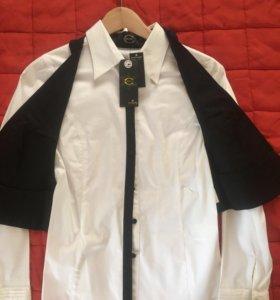 Дизайнерская блузка 2 в 1 новая Just Cavalli