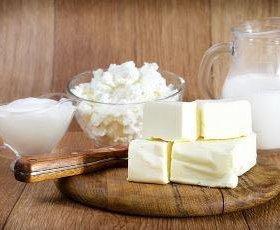 Молочная продукция из козьего молока.