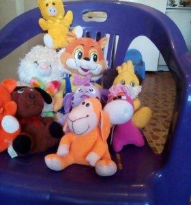 Мягкие игрушки!