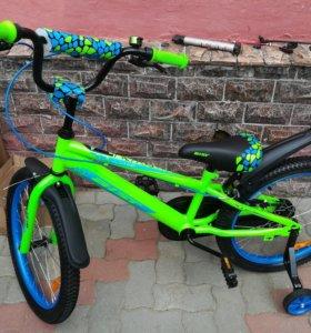 Новый велосипед 20дюймов