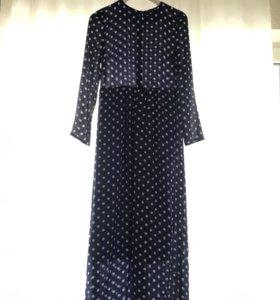 Длинное платье S