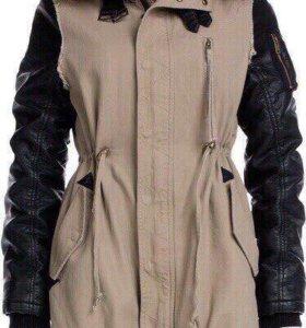 Обмен парка куртка женская новая