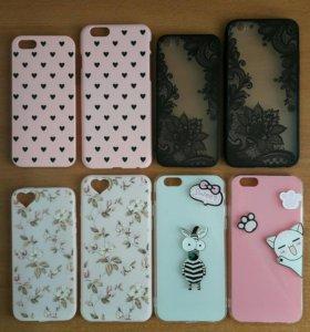 Чехлы для iPhone 5/5s и 6/6s