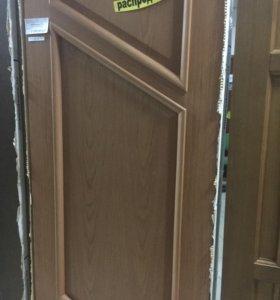 Дверь массив шпон