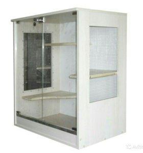 Клетка- витрина новая