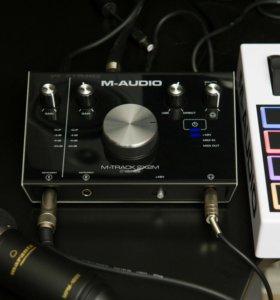 Внешняя звуковая карта M-audi m-track 2x2 (24/192)