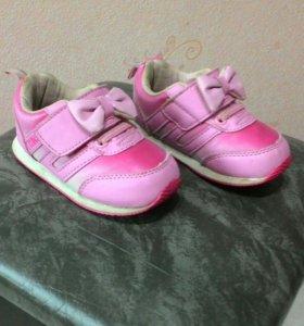 Кроссовки для маленькой принцессы