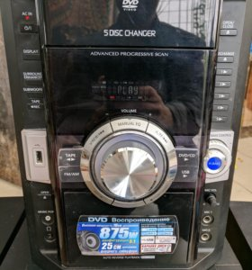 Музыкальный центр Panasonic SA-VK870 875W 5.1