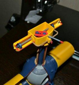Модель шарового крана Ду1400