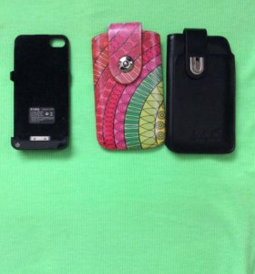 Чехол аккумулятор для айфон 4 и два чехла для него