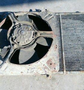 Радиатор охлаждения с вентилятором на ВАЗ