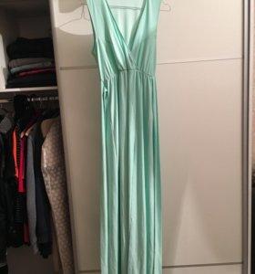 Платье ASOS с разрезом в пол