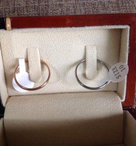 Мужские обручальные кольца металл бижутерия