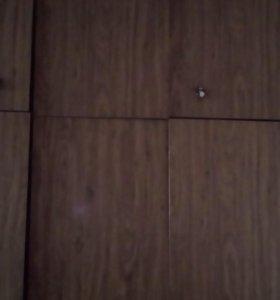 Шкаф с антрисолью