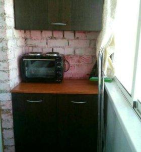 Кухня для балкона или дачи
