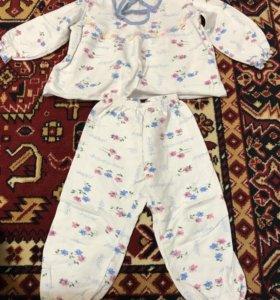 Пижама на девочку На 2-3 года