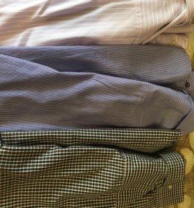 Рубашки мужские 5 штук 48 новые, цена за все