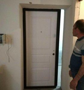 Дверь входная метеллическая