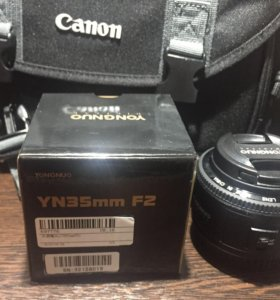объектив для Canon EOS 35mm f/2 широкоугольный
