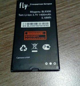 Аккумулятор fly 1400 mAh