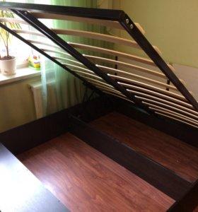 Кровать с подъёмным механизмом 160/210