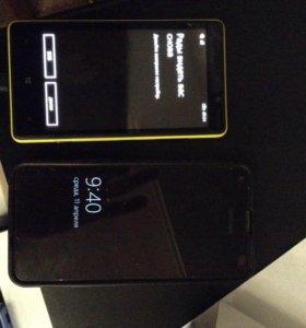 Телефон люмия 820 и люмия 550