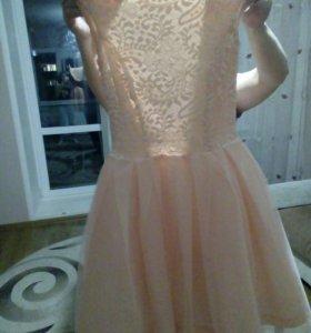 Платье на 10-12лет на выпускной.