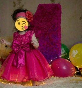 Шикарное платья для маленькой принцессы!