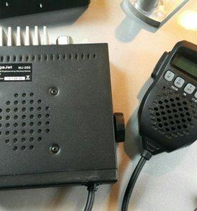 Рация Сиби megajet 555 + антенна lemm 2001