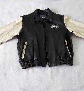 Куртка кожаная натуральная новая