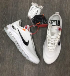Кроссовки Nike air max 97 off white