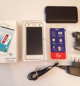 Смартфон Fly IQ 4512 + Подарок
