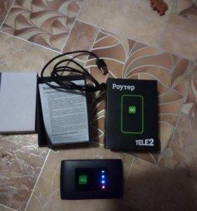 Роутер 4g Теле2 модель zte mf920