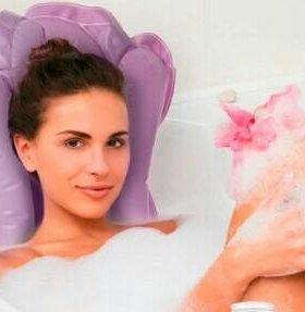 Надувная подушка для ванны