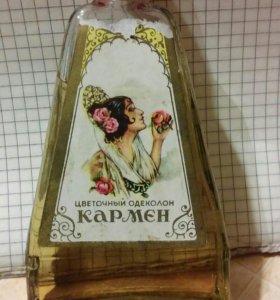 Цветочный одеколон Кармен