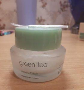 Крем для лица `IT`S SKIN` GREEN TEA увлажняющий
